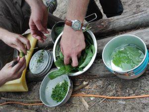 gotowanie w terenie