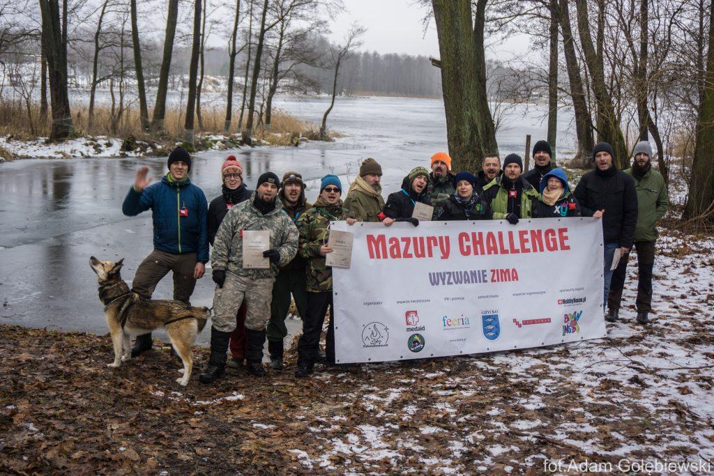 Uczestnicy Mazury Challenge 2017